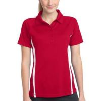 Ladies PosiCharge Micro Mesh™ Colorblock Polo Thumbnail