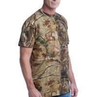 s ™ Realtree ® Explorer 100% Cotton T Shirt with Pocket Thumbnail