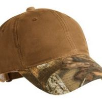 Pro Camouflage Series Cotton Waxed Cap with Camouflage Brim Thumbnail