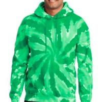 Essential Tie Dye Pullover Hooded Sweatshirt Thumbnail