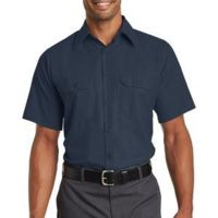 Short Sleeve Solid Ripstop Shirt Thumbnail