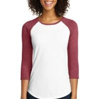 Women's Fitted Very Important Tee ® 3/4 Sleeve Raglan Thumbnail