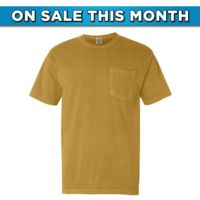 Garment Dyed Heavyweight Ringspun Short Sleeve Pocket Tee Thumbnail